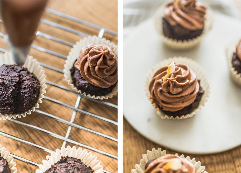 Chocolate Superfood Cupcake