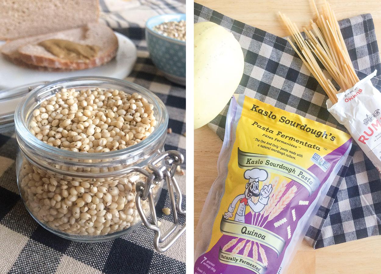 Kaslo Pasta, Rummo Pasta, buckwheat